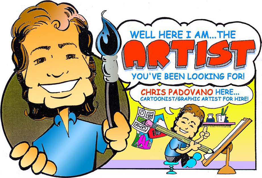 CHRIS PADOVANO, CHILDREN'S BOOK ARTIST